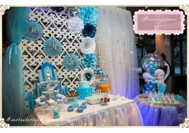 Замръзналото кралство - снежна магия от Елза