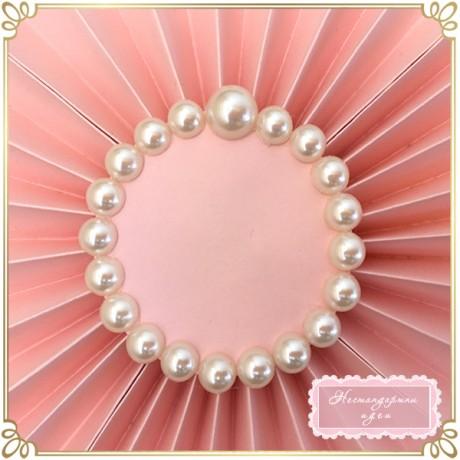 Розово ветрило с перли