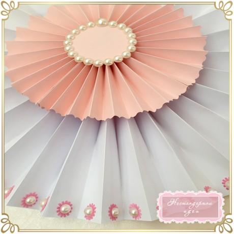 Ветрило с перлена декорация