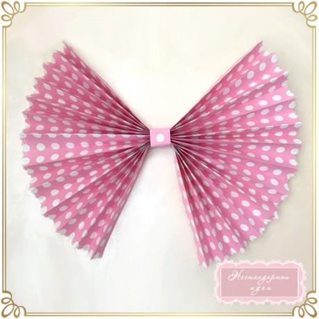 Ветрило-панделка с декориран кант