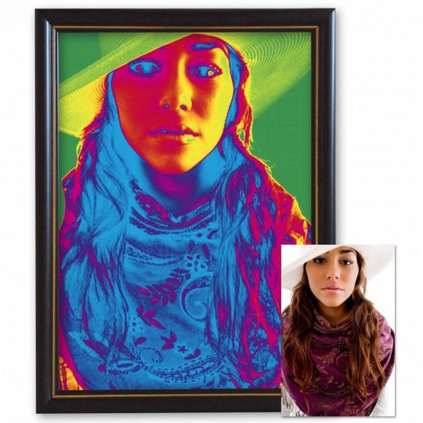 Дигитална картина от снимка - цветен ефект