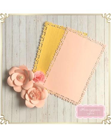 Подложки за маса - черешов цвят