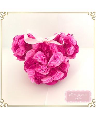 Мини Маус - фигура с хартиени цветя